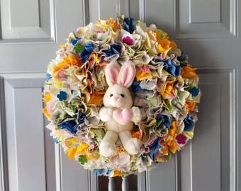 Easter Bunny Wreath, Easter Bunny Door Hanger, Easter Bunny Decor, Easter Door Wreath, Easter Wreath, Easter Door Hanger, Easter Wall Decor