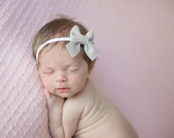 Baby Bows, Sailor Bows, Baby Headband, Schoolgirl Bow, Baby Girl Headband, Newborn Baby Bows, Baby Hair Bows, Girls Hair Clips, Headband