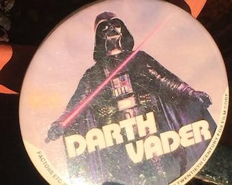 Vintage Original Star Wars 1977 Darth Vader Pinback Button