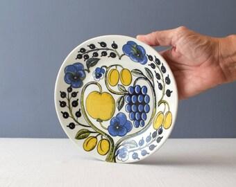 Rare Vintage Birger Kaipiainen for Arabia Paratiisi Oval Salad Plate