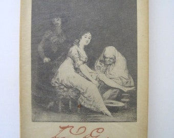 The Caprices of Goya by Jean Adhemar -- Paris, 1951