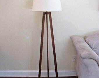 Floor Lamp - Walnut