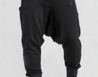 Clusterstone-Flex Drop Crotch Joggers