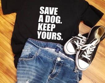 Dog Rescue Shirt, Dog Rescue TShirt, Rescue Dog Shirt, Rescue Dog T Shirt, Dog Rescue Gifts, Spay and Neuter, Rescue Shirt, Rescue Gift