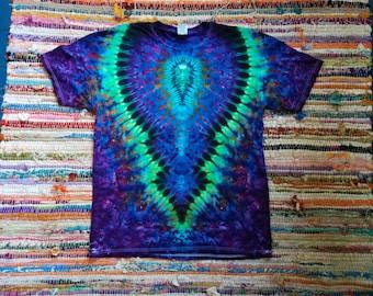 Size XL Men's Tie-Dye T-shirt