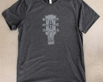 Duane Allman Guitar Tshirt ( DARK GRAY )