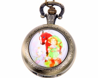 Necklace Pocket watch zelda 2525M