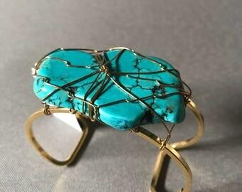 Vintage Cuff Bracelet, Yochi NY