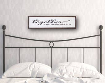 bedroom wood sign bedroom quote framed wood sign bedroom sign wood wall