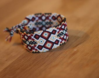 """Friendship bracelet """"Pow wow"""""""