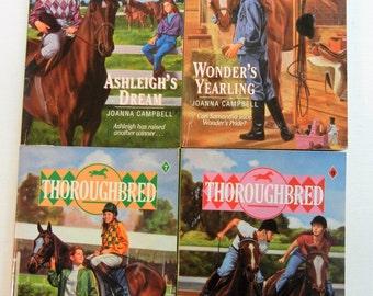 Thoroughbred Series Horse Books (Books 5, 6, 7 and 9) Harper Paperback Books 1993-1994