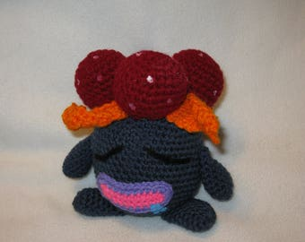 Gloom pokemon amigurumi plush