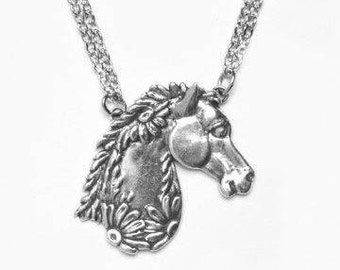 """Spoon Necklace: """"Horse"""" by Silver Spoon Jewelry"""
