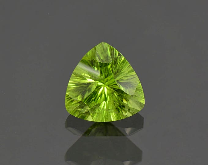 Beautiful Lime Green Peridot Gemstone from Pakistan 3.40 cts.