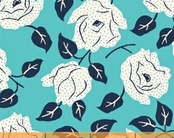 Baby Bedding Crib Bedding - Floral, Blue, White, Rose - Baby Blanket, Crib Sheet, Crib Skirt, Changing Pad Cover, Boppy Cover