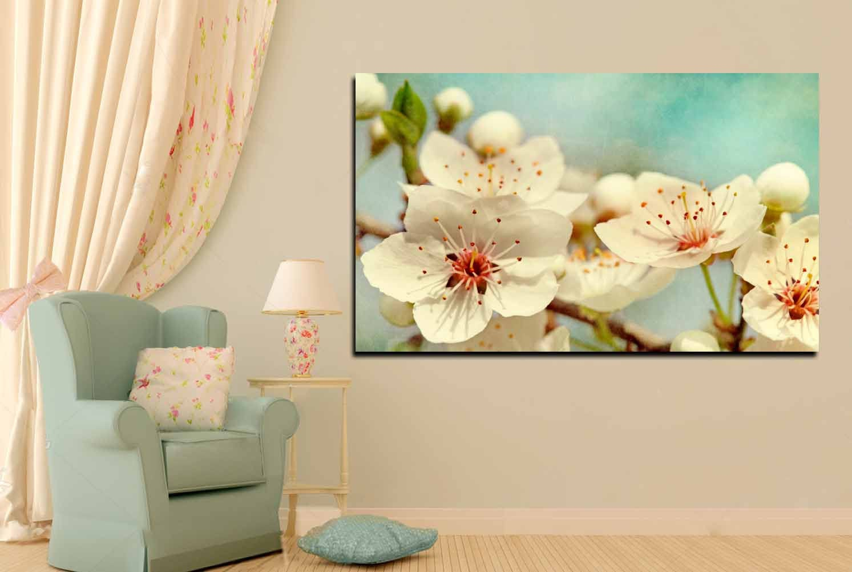 Cherry Blossom Wall Art - Elitflat