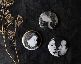 Set of buttons / badges