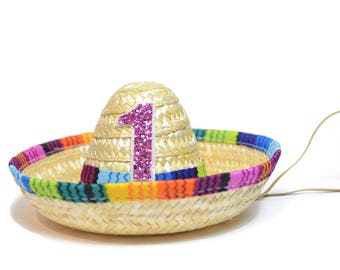 Fiesta Birthday Party || Taco Party Hat || Mini Sombrero || Uno Party Hat || Cinco De Mayo || Add Any Number