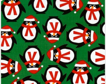 Robert Kaufman Jingle Penguins #12402
