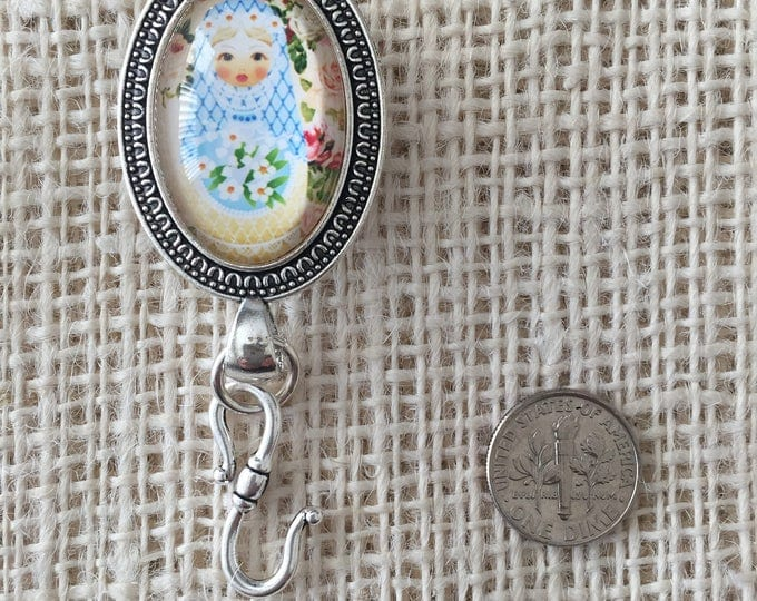 Knitting Pin - Magnetic Knitting Pin for Portuguese Knitting - Babushka 1