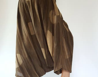 HC0281 Natural Tiedry Bohemian Harem Pants Gypsy Pants cotton Pants,Aladdin Pants Maxi Pants Boho Pants