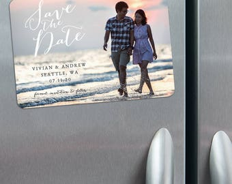 Always Yours - Photo Wedding Save the Date Magnets + Envelopes