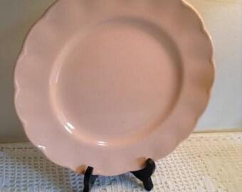 Grindley Peach Petal Plate
