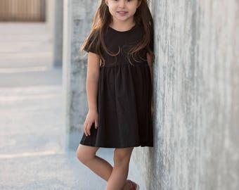 Baby girl, baby girl clothes, baby, baby clothes, baby girl dresses, baby black dress, toddler black dress, girls dresses, baby shower