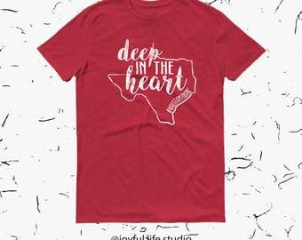 Hurricane Relief Shirt - Deep in the Heart