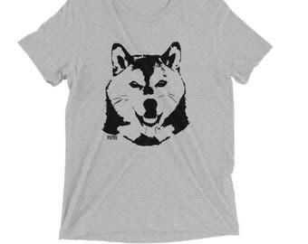Shiba Inu Shirt, Shiba Inu Gifts, Dog Owner Gift, Tri Blend T Shirts, Husband Gift, Personalized Tshirts, Custom Tshirts, Wife Gift