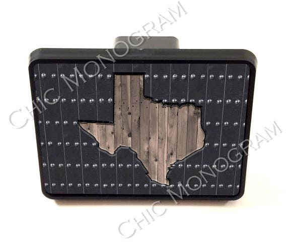 Trailer Hitch Cover, Car Gifts for Men, Christmas Gift for Him Custom Gift Car Accessories For Men Christmas Gift For Dad State Texas
