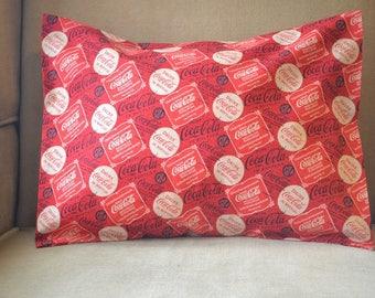 Travel Pillow Case / Accent Pillow Case COCA COLA / COKE Decor