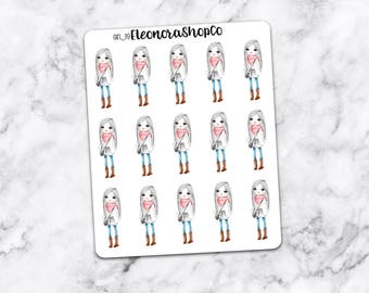 WINTER GIRL Stickers — girl_39