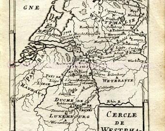 Osnabruck map Etsy