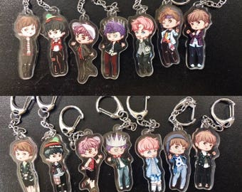 BTS Spring Day / Not Today keychains