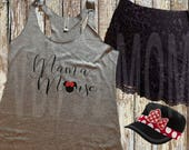 Disney Family Shirts - Mama Mouse Racerback Tank