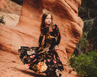 Girls' Tapestry Bespoke Dress