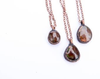 Agate necklace | Mexican Fire Agate necklace | Fire Agate | Fire Agate Necklace