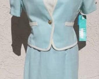 Vintage Leslie Fay Dress Suit