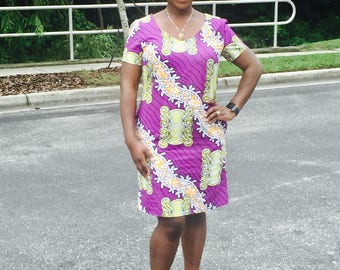 African Dress, African Clothing, Women's Dress,African Print Dress, African Clothing,  SALE!!!