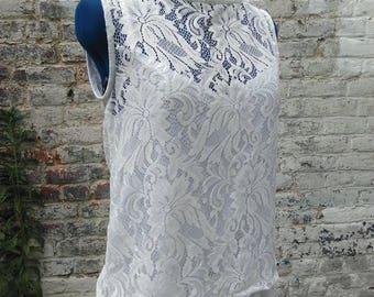 Long Bohemian top lace dress