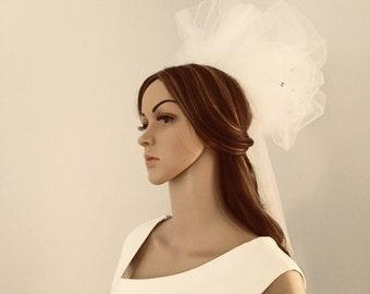 Bridal veil ,unique, modern veil