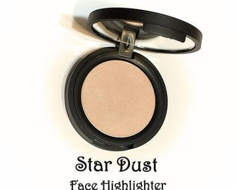 STAR DUST Mineral Highlighter Natural Face Color - Gluten Free Pressed Makeup