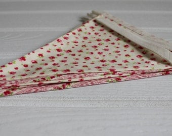 Handmade Pretty Pink Ditsy Floral Bunting