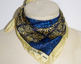 Celine silk scarf
