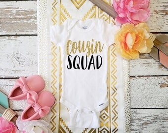 Cousin Squad / BIG COUSIN Shirt / Future Big Cousin / Cousins Bodysuit or T-shirt Photo Prop
