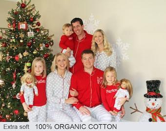 Christmas Pajamas Family Christmas Pajamas Family Pajamas Monogrammed Christmas pjs Embroidered Christmas pjs Family Christmas Pajamas