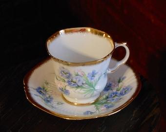 Royal Adderley Fine Bone China Vintage Tea Cup & Saucer
