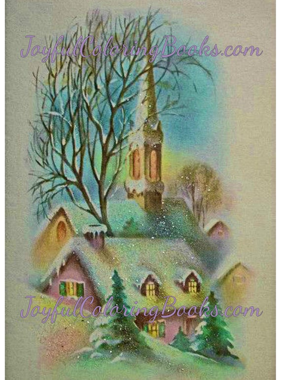 5 Winter Church Printable Posters