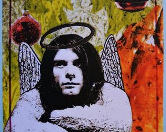 Ltd Edition Kurt Cobain Christmas card